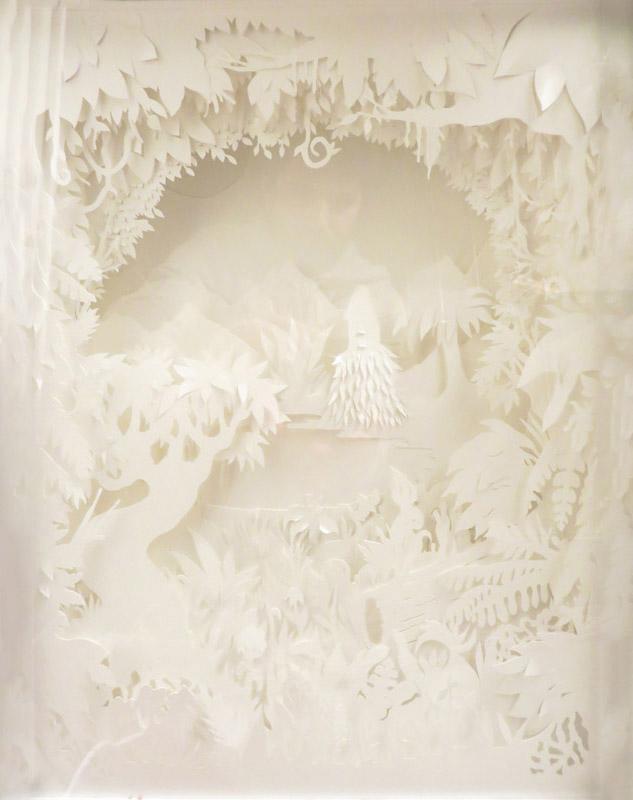 Forêt de papier